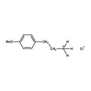 4-Methoxy-Phenethylammonium chloride