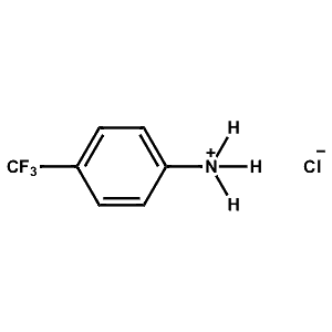 4-Trifluoromethyl-Phenylammonium chloride