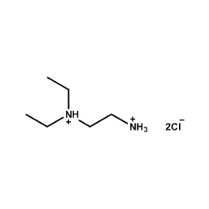 N,N-Diethylethane-1,2-diammonium chloride