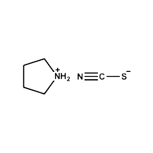 Pyrrolidinium thiocyanate